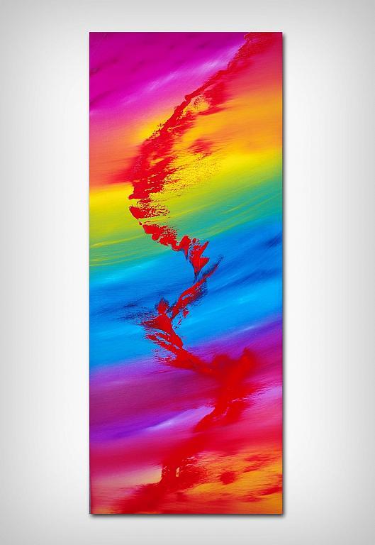 Rainbow rhapsody - Davide De Palma - Olio - 200 €