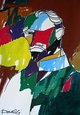 Ritratto di Vincent Van Gogh - Gabriele Donelli - Acrilico - 300€