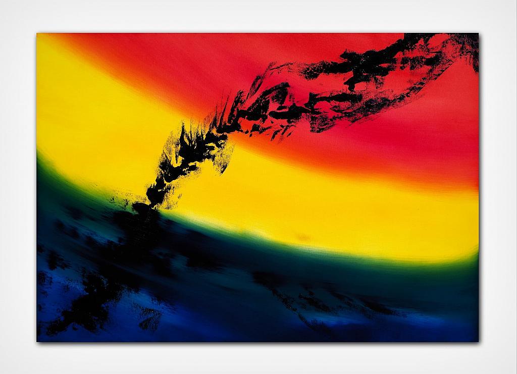 Skyline I, serie, 100x70 cm - Davide De Palma - Olio - 900 €