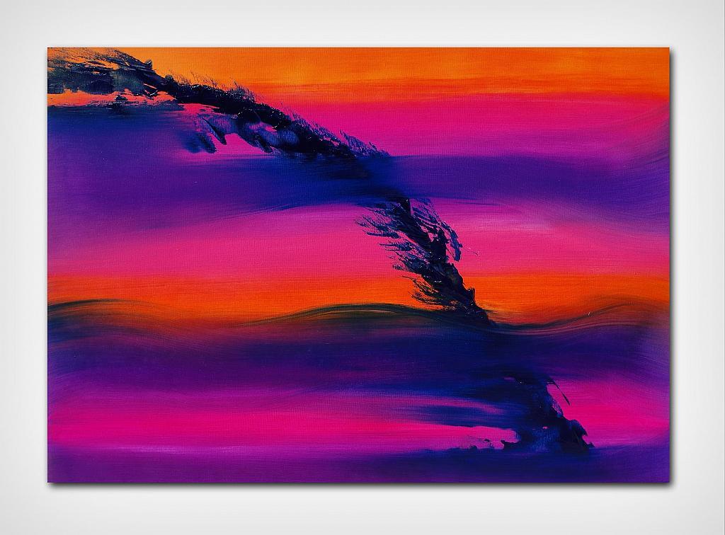 Skyline II, serie, 100x70 cm - Davide De Palma - Olio -  €