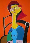 Ritratto di donna - Gabriele Donelli - Acrilico - 400€
