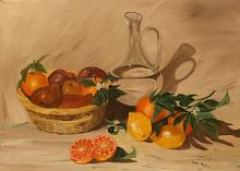 frutta di stagione - Santina Mordà - Olio - 200€