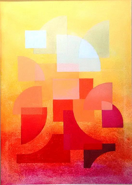 Fantasia n. 77 - gianni pennisi - Acrilico su tela - 480 €