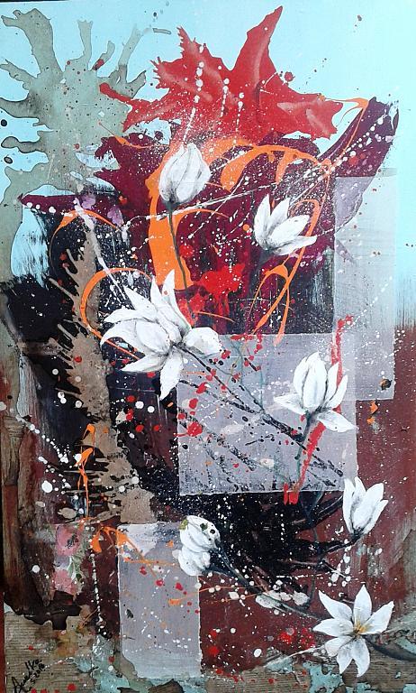 Flowers - anna casu - Acrilico -  €