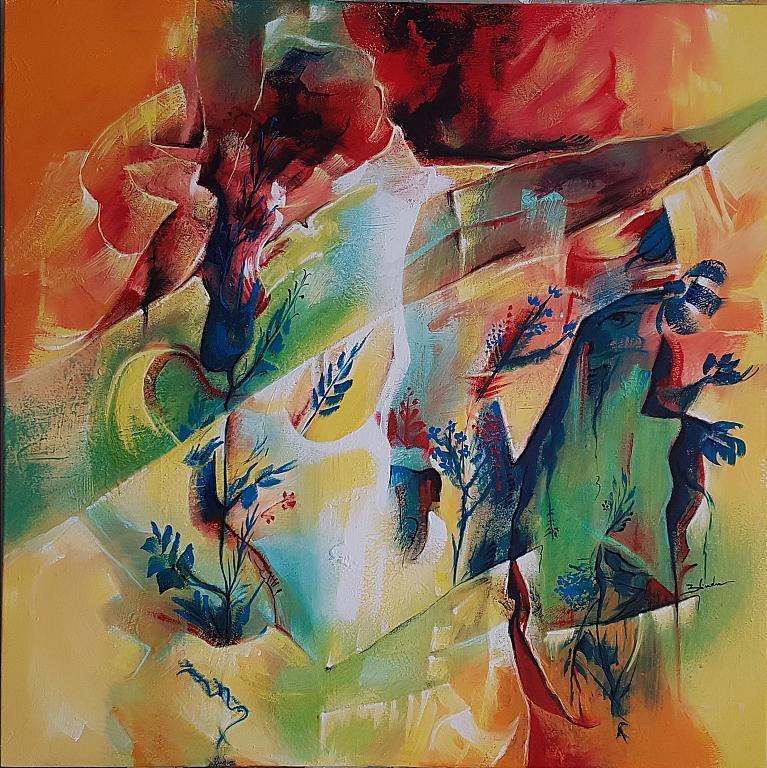 Vibrazioni  - Mery BLINDU - Acrilico -  €