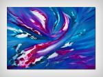 Blue sky II, 100x70, la serie - Davide De Palma - Olio - 300€