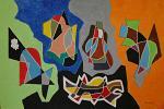 Cinque pezzi facili - Carlo Maschio - Olio - 100 €