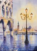 Venedig - Eve Mazur - Acquerello - 60€