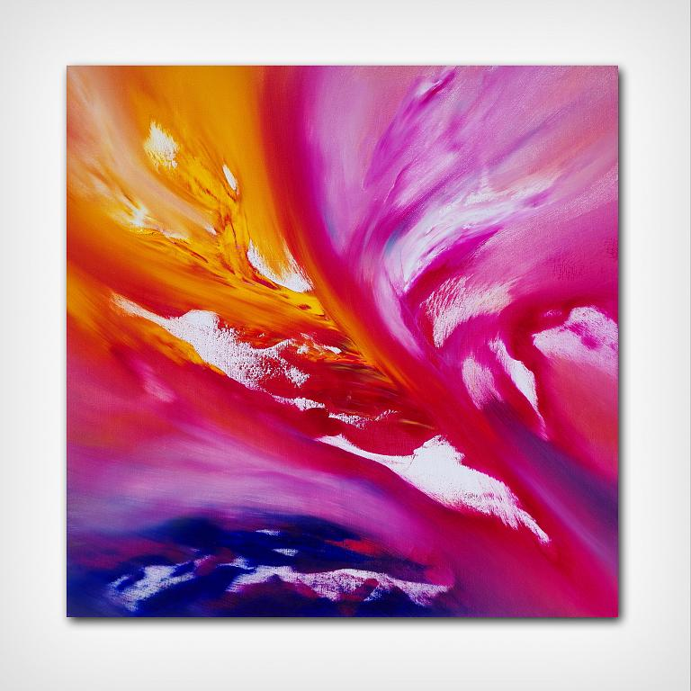 Fairy tale IV 60x60 cm - Davide De Palma - Olio - 200 €