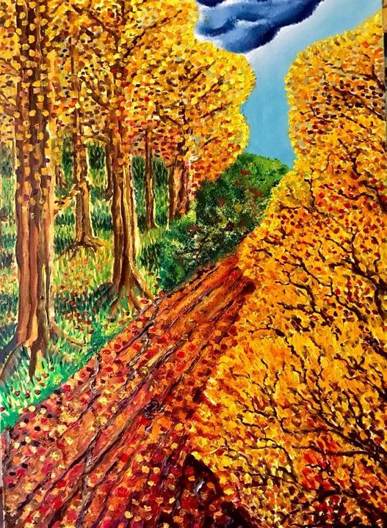 omaggio all'autunno  - Paolo Signore - Olio - 300 €