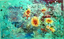 Danzando con i fiori - anna casu - Acrilico