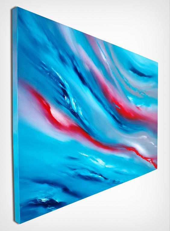 Blue sky III, 100x70, la serie - Davide De Palma - Olio - 300 €