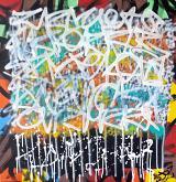 intersezione pericolosa - marco stazzini - Action painting - 480€