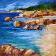 Il sogno senza tempo sull'isola che c'è  - Carla Colombo - Olio - 550 €