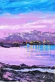 Accadde la sera sul lago - Carla Colombo - Acrilico - 330€