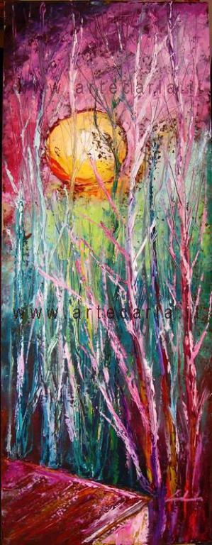 Ritorna sempre il sole - Carla Colombo - Olio