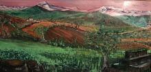 Campi  in Abruzzo - Dalido Gino Marini - Acrilico