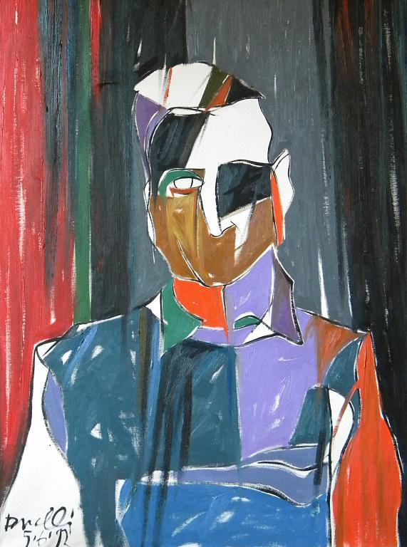 Ritratto di Goffredo Parise - Gabriele Donelli - Olio - 600 €
