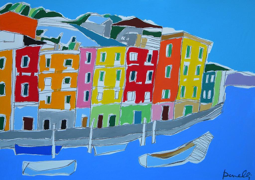 Portofino - Gabriele Donelli - Acrilico - 300 €