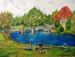 Il Ponte - sergio scilironi - Olio - 180 euro