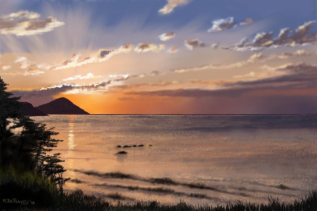 Isola d'elba - Michele De Flaviis - Digital Art - 140 €