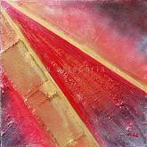 ...e viene il tempo  - Carla Colombo - olio + sabbia