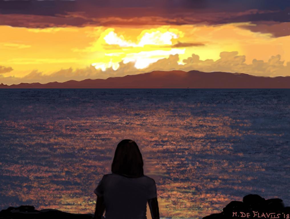 Uno sguardo alla costa - Michele De Flaviis - Digital Art