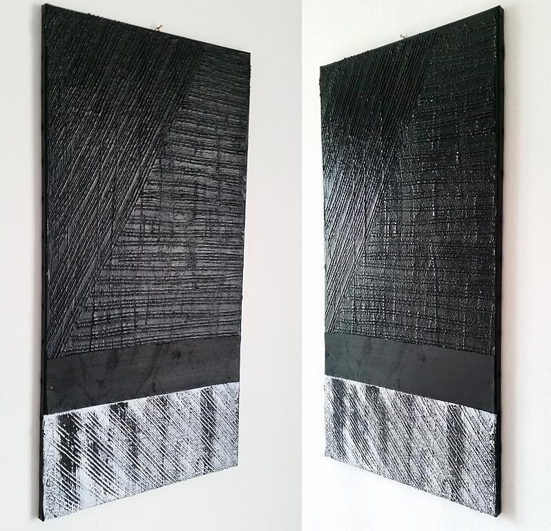 black is black direzioni diversi  N.2. - aliz polgar - mista