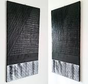 black is black direzioni diversi  N.2. - aliz polgar - mista - 135€