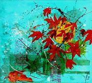 Autunno in fiore 2 - anna casu - Acrilico