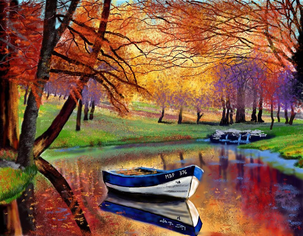 Tripudio di colori autunnali - Michele De Flaviis - Digital Art