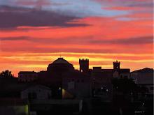 Mosciano Sant'Angelo al calar del sole - Michele De Flaviis - Digital Art
