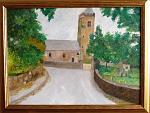 Chiesa Di San Saviurs  in Guernsey - sergio scilironi - Olio - 225 €
