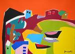 Paesaggio - Gabriele Donelli - Acrilico - 700€