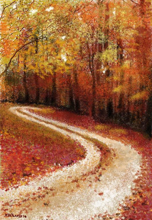 L'autunno e i suoi colori - Michele De Flaviis - Digital Art