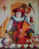 L UCCELLATTORE 2 - Viktoriya Bubnova - Olio