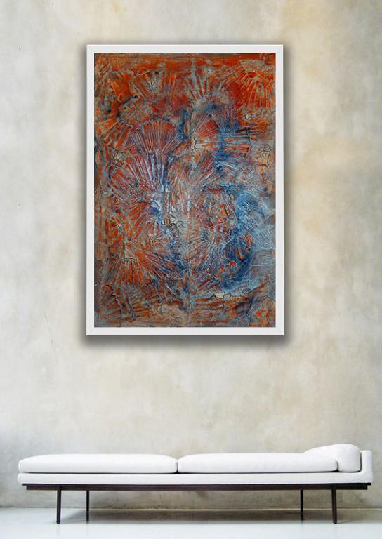 Inside me - Massimo Di Stefano - Mista su tela - 1500 €