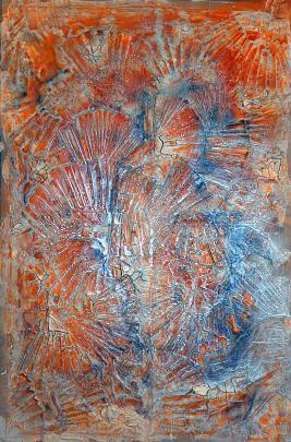 Inside me - Massimo Di Stefano - Mista su tela - 700 €
