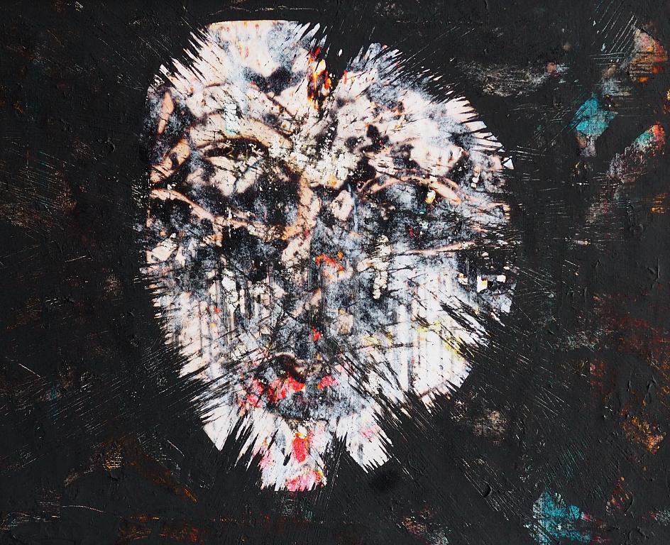 Your mask is mine - Massimo Di Stefano - mista su tela - 100 €