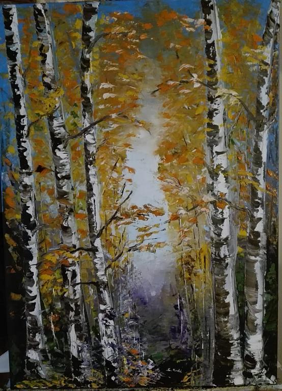 I colori dell'autunno - Santina Mordà - Olio - 250 €