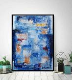 Immagination on blue - aliz polgar - mista - 160€