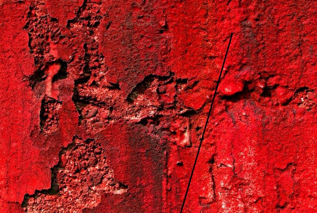 Muro...rosso - FUCLA - Claudio Furlan  - Tecnica mista/materico