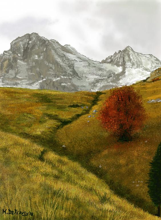 Autunno inoltrato  - Michele De Flaviis - Digital Art
