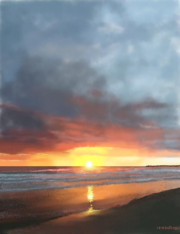 Mare di Giulianova  TE - Michele De Flaviis - Digital Art - 70 €