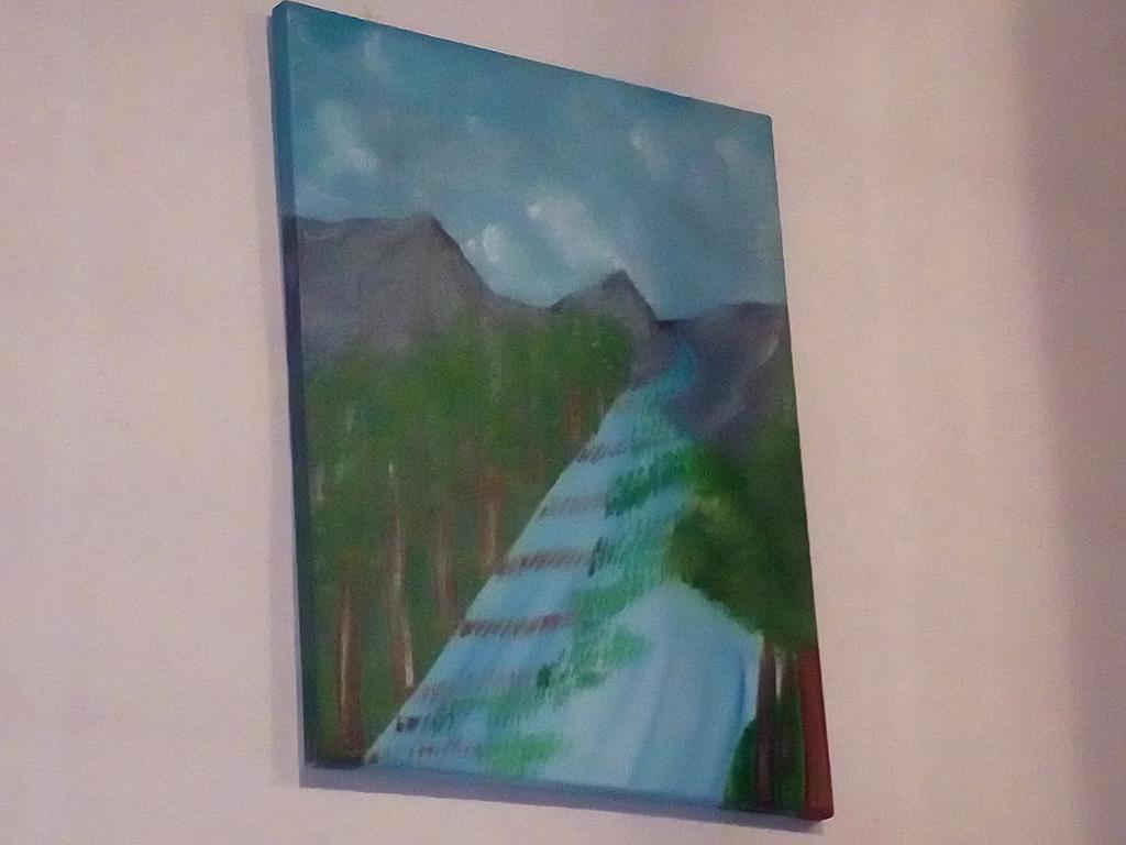 Lo strano fiume - Carmela Muscara - Olio - 40 €