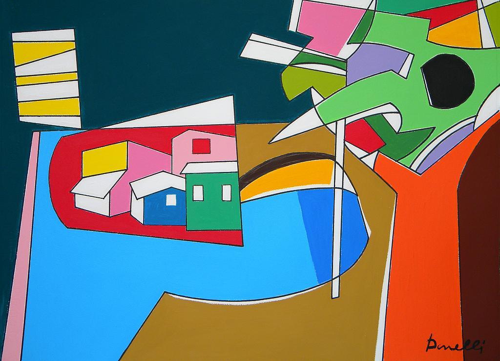 Paesaggio - Gabriele Donelli - Acrilico - 500 €