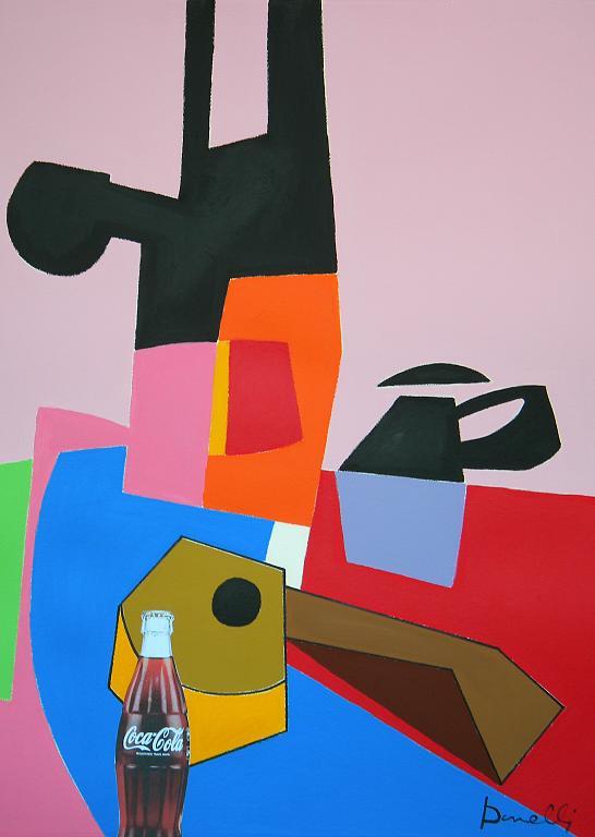 Natura morta - Gabriele Donelli - Acrilico - 1600 €
