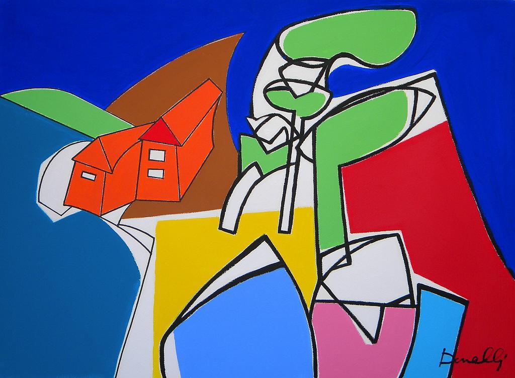 Paesaggio - Gabriele Donelli - Acrilico - 600 €