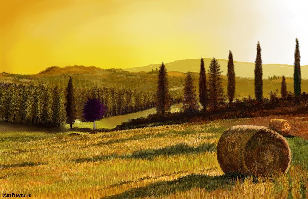 Tornano Siena - Michele De Flaviis - Digital Art