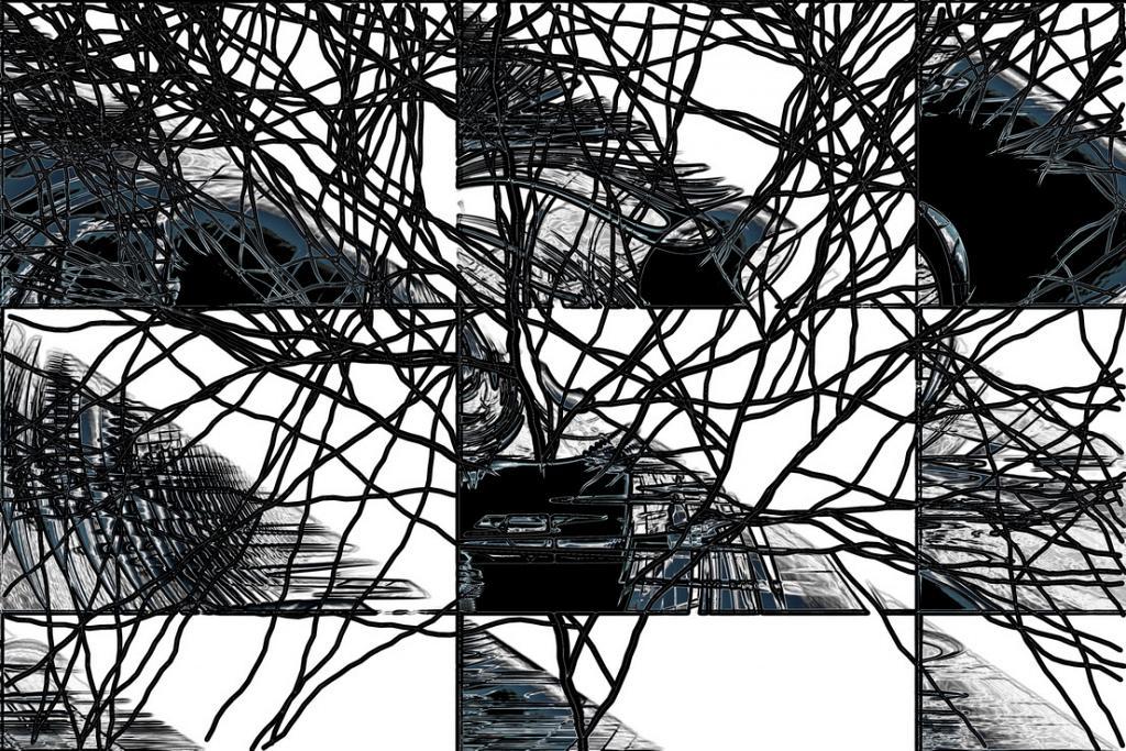 Scomposizione cognitiva - Massimo Di Stefano - Digital Art